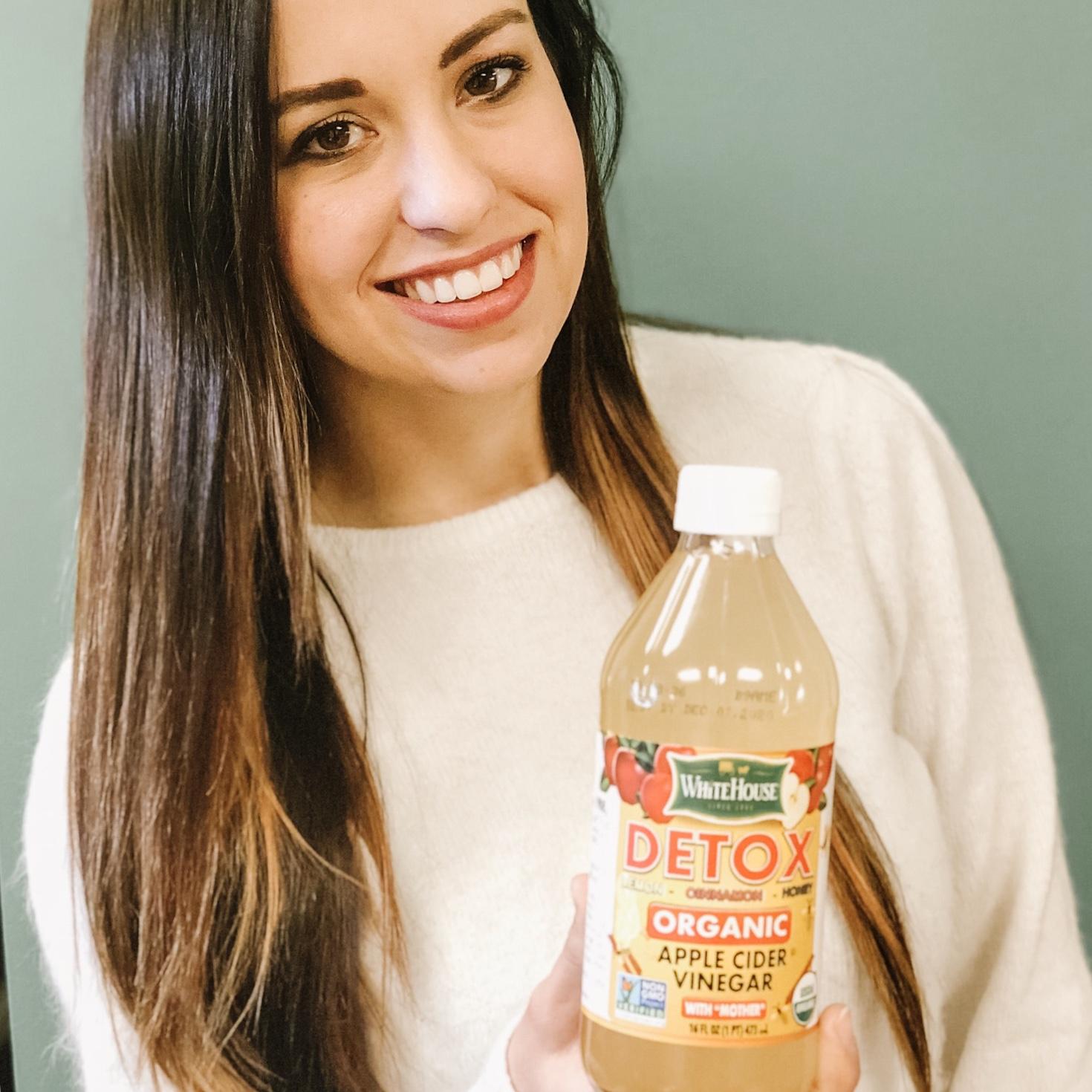 7 Day Detox with White House Foods apple cider vinegar DETOX